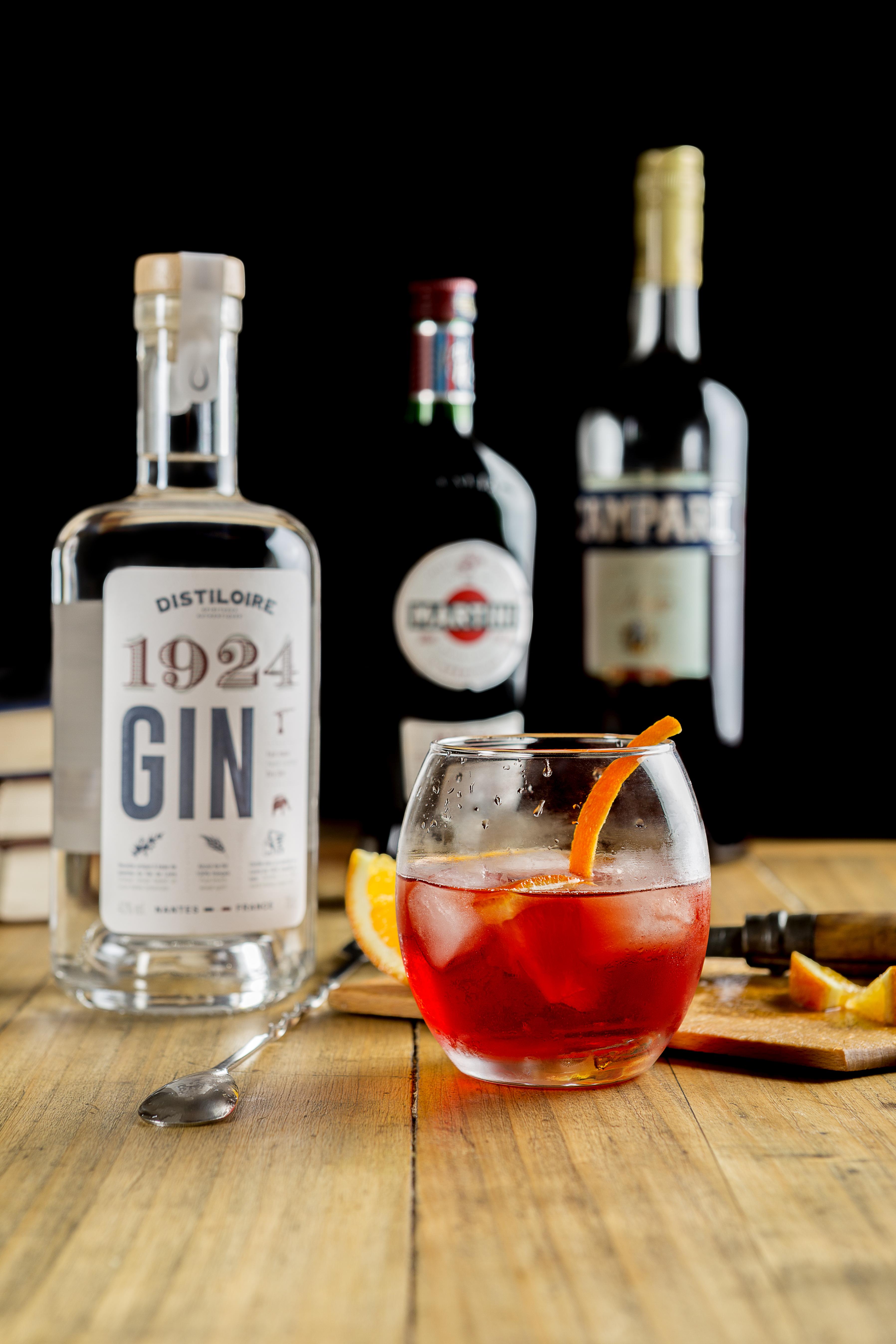 Negroni - Gin 1924 Distiloire